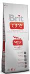 Brit Care Activi All Breed корм для взрослых активных собак всех пород с ягненком и рисом 1кг