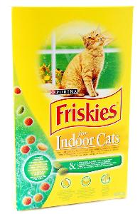 FRISKIES Indoor Cat корм для взрослых кошек; живущих в помещении 2кг
